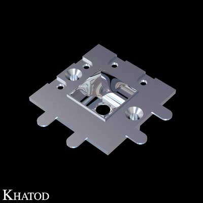 """Square Reflector for Power LEDs - Ultra Wide Beam - """"MODULARIS - Modular Reflectors Systems"""""""