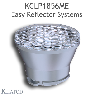 Reflectors for COB LEDs - 49,90mm diameter - 38,81mm height - Medium Beam