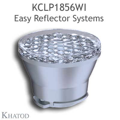 Reflectors for COB LEDs - 49,90mm diameter - 38,81mm height - Wide Beam