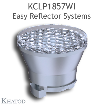 Reflectors without connector for COB LEDs - 49,90mm diameter - 43,31mm height - Wide Beam