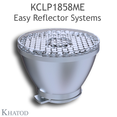 Reflectors for COB LEDs - 72,00mm diameter - 58,15mm height - Medium Beam