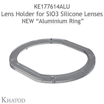 Ultra Clear Silicone Lenses for COB LEDs; 100,00mm x 111,00mm side, 42,93mm height; Type V