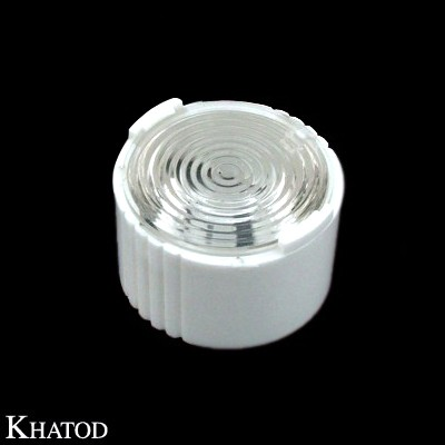 Single Lenses for Power LEDs with White Holder; Medium Beam