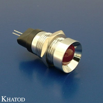 LED Metal Signal Lamps with 5mm, 8mm, 10mm and 20mm diameter LED