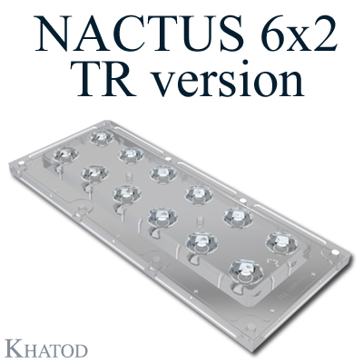 Nactus 6x2 Optical System with 12 Lenses