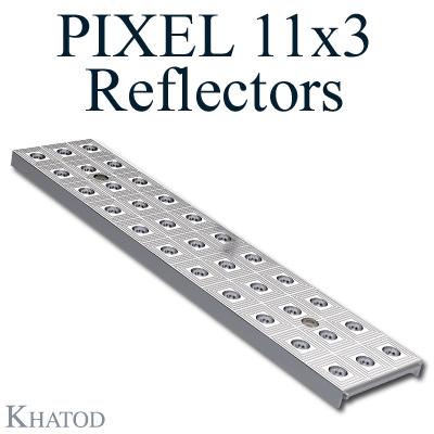 Réflecteurs PIXEL 11x3 pour LED Mid Power