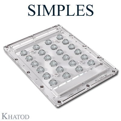SIMPLES Lenses for 5050 LEDs