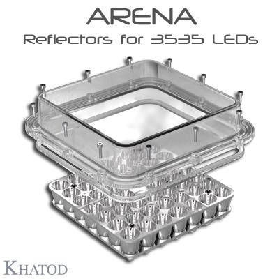 Systèmes réflecteurs optiques: Réflecteurs ARENA pour 3535 LED