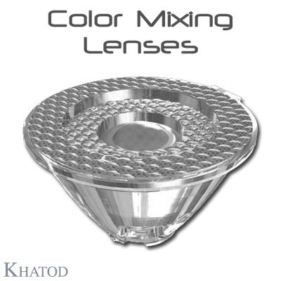 Éclairage LED général: Lentilles de mélange de couleurs