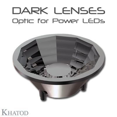 General LED Lighting: DARK LENSES - Optic Lens for Power LEDs