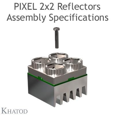 KCLP04xxCRSM Pixel 2x2 Reflector