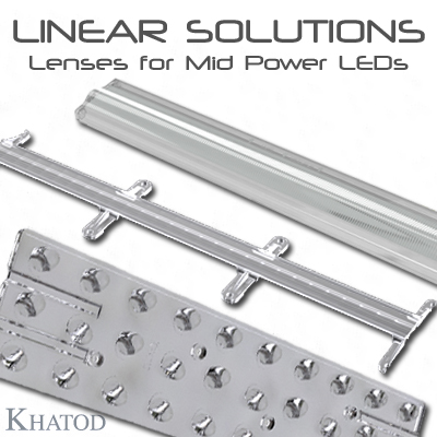 Optical Systems for Mid Power LEDs: LINEAR Solutions