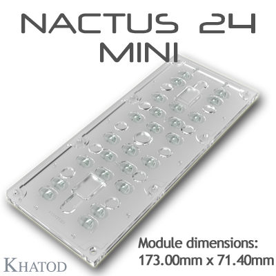 NACTUS 24 MINI - NACTUS Optical Systems - 173.00mm x 71.40mm side