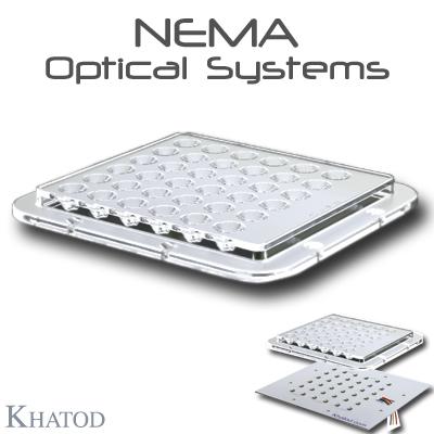 Éclairage LED extensif: SYSTÈMES OPTIQUES NEMA pour LED Power