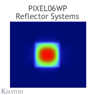 PIXEL06WP Reflector Systems - 60° FWHM - 27.96mm x 167.64mm side - 21.73mm height