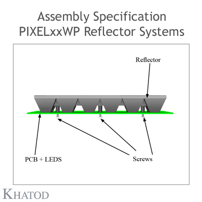 Assembly specification PIXEL without pegs