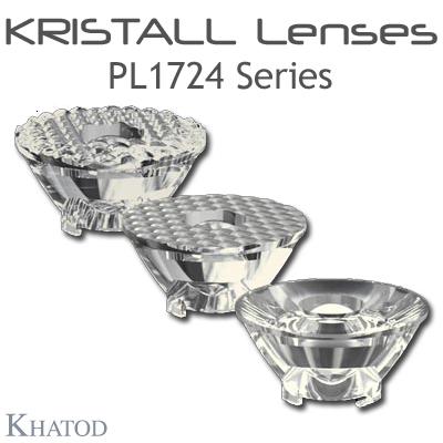 Kristall Lenses for COB LEDs - PL1724 Series