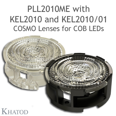 KEL2010 - Holder for PLL2010xx - Available in clear transpartent and black verions