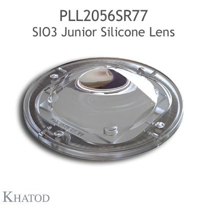 PLL2056SR77 SIO3 Junior Silicone Lenses - 60° FWHM