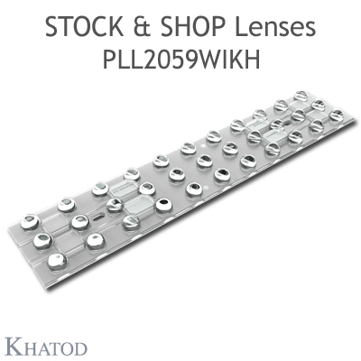 PLL2059WIKH - 11x3 Stock and Shop Lenses - 30° FWHM