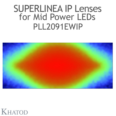 PLL2091EWIP SuperLinea Lenses - Extra Wide Beam - 60° FWHM