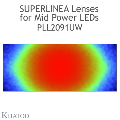 PLL2091UW SuperLinea Lenses - Ultra Wide Beam - 90° FWHM