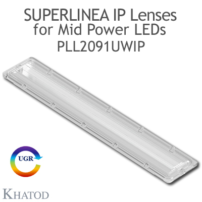 PLL2091UWIP SuperLinea Lenses - Ultra Wide Beam - 90° FWHM