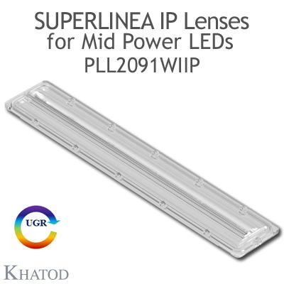 PLL2091WIIP SuperLinea Lenses - Medium Beam - 30° FWHM