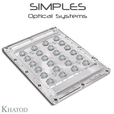 Éclairage LED extensif: Lentilles SIMPLES pour 5050 LED