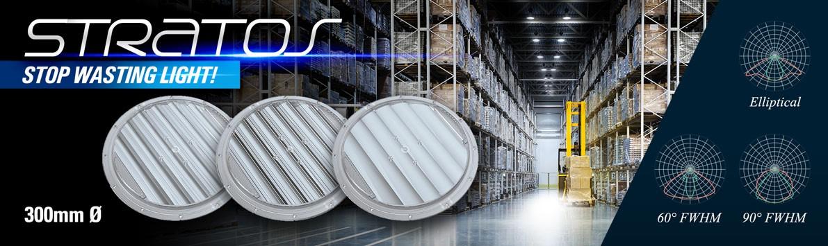 STRATOS Lenses for Mid Power LEDs