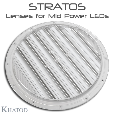 Optical Systems for Mid Power LEDs: STRATOS Lenses
