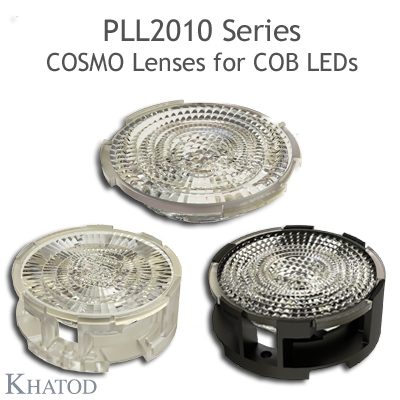 COSMO Lenses for COB LEDs - 49.98mm diameter - 10.33mm height