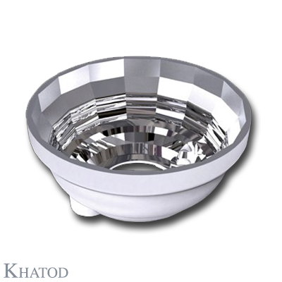 Round Reflector for Power LEDs; Ultra Wide Beam