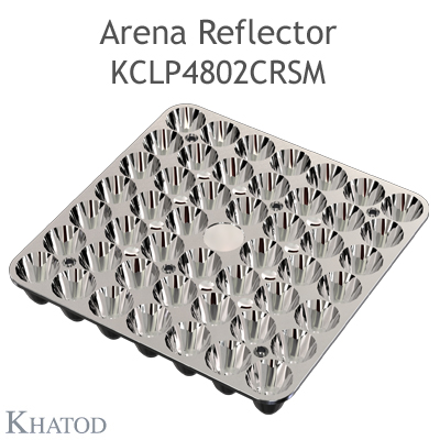 Arena Reflector - 144.98mm x 144.98mm side - 21.00mm height - Medium Beam - NEMA 3
