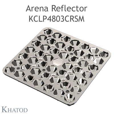 Arena Reflector - 144.98mm x 144.98mm side - 16.00mm height - Extra Wide Beam - NEMA 4