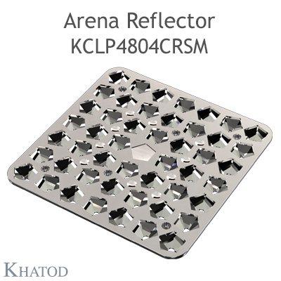Arena Reflector - 144.98mm x 144.98mm side - 10.75mm height - Ultra Wide Beam - NEMA 5