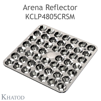 Arena Reflector - 144.98mm x 144.98mm side - 10.00mm height - Wide Beam - NEMA 5
