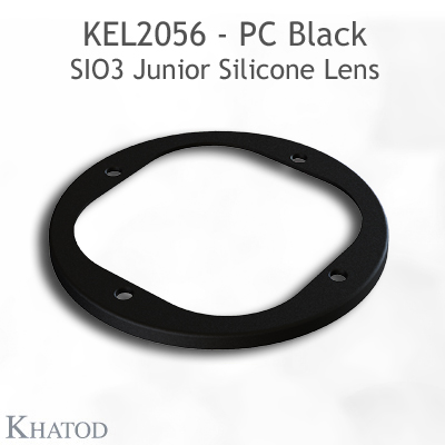 Silicone Lens for COB LEDs - 85.09mm diameter - 35.31mm height - 45° FWHM