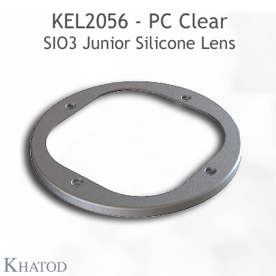 Silicone Lens for COB LEDs - 85.09mm diameter - 33.80mm height - 15° FWHM