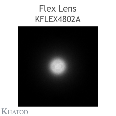 Kflex Optical System with 48 Lenses - Module dimensions: 49.50mm x 151.10mm - 6.60mm height - Rotosymmetrical 60° FWHM