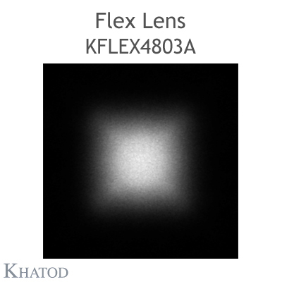 Kflex Optical System with 48 Lenses - Module dimensions: 49.50mm x 151.10mm - 5.75mm height - Square Beam 100° FWHM