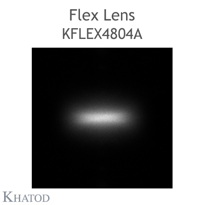 Kflex Optical System with 48 Lenses - Module dimensions: 49.50mm x 151.10mm - 6.20mm height - Elliptical 35°x105° FWHM