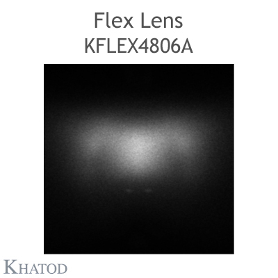 Kflex Optical System with 48 Lenses - Module dimensions: 49.50mm x 151.10mm - 2.45mm height - UNI EN 13201 - Type ME Narrow Street