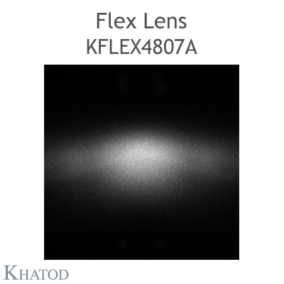 Kflex Optical System with 48 Lenses - Module dimensions: 49.50mm x 151.10mm - 2.45mm height - IESNA Type I
