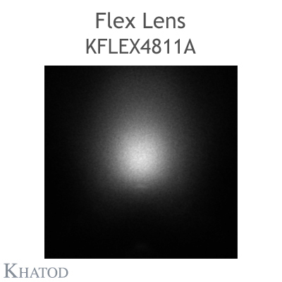 Kflex Optical System with 48 Lenses - Module dimensions: 49.50mm x 151.10mm - 4.95mm height - Asymmetrical for sport facilities