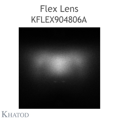 Kflex Optical System with 48 Lenses - Module dimensions: 49.50mm x 151.10mm - 4.59mm height - UNI EN 13201 - Type ME Narrow Street