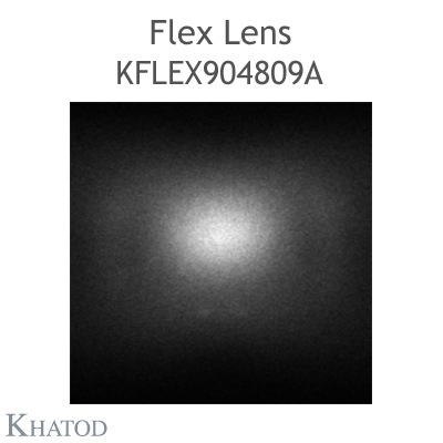 Kflex Optical System with 48 Lenses - Module dimensions: 49.50mm x 151.10mm - 4.11mm height - IESNA Type III