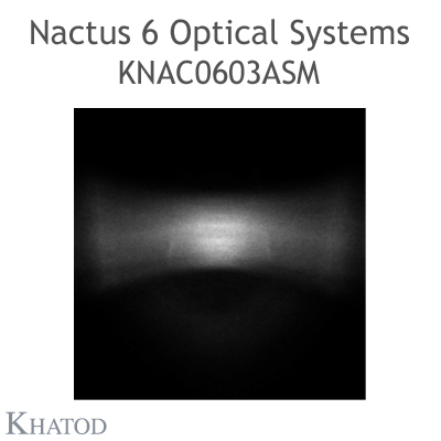 Nactus 6 Optical System with 6 Lenses - Module dimensions: 49.80mm x 49.80mm side - Asymmetrical Beam