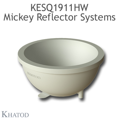 Mickey Reflector Systems for Multichip LEDs - 34,99mm diameter - 15,90mm height