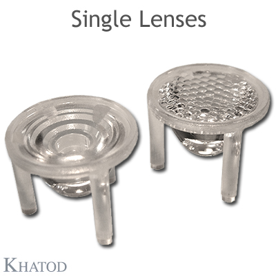 Single Lenses - 22,00mm diameter - 12,85mm height